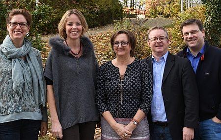 Frau Scheller, Frau Todzy, Frau Jennrich, Herr Ahr (Vorsitzender), Herr Corban