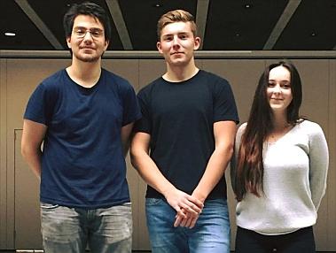 Hakan Imen, Felix Schilling und Laila Frühsorger